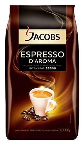 [Amazon] Jacobs Espresso D'Aroma 1 kg (ganze Bohnen) im Sparabo für 8,07€