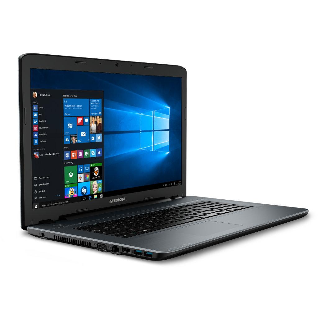 [Medion] Bundle: MEDION® AKOYA® P7641 (MD 60093) i5-6200U / 6GB RAM / GF 930M / 1,5 TB HDD / 128 GB SSD+ Medion Life X5004 (MD 99238) Dual Sim schwarz GRATIS + 4% shoop + 10€ Amazon Gutschein