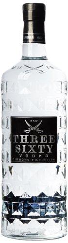 Three Sixty Wodka Großflasche (1 x 3 l)