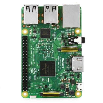 (Gearbest) Raspberry Pi 3 Model B Wireless - LAN, RAM 1 Go, Bluetooth 4.1, Wi-Fi, 4 USB 2.0