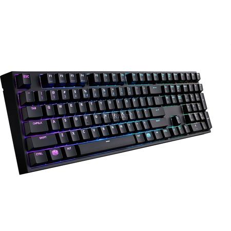 [ZackZack]Gaming Tastatur Cooler Master Masterkeys Pro L RGB MX Brown & Red