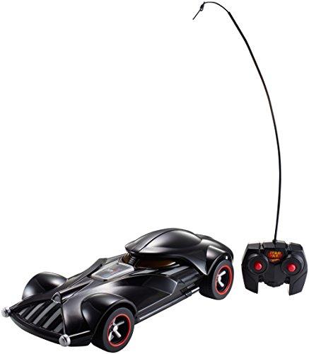 Mattel Hot Wheels FBW75 - Star Wars Darth Vader RC Fahrzeug mit Lights und Sounds inklusive Fernsteuerung