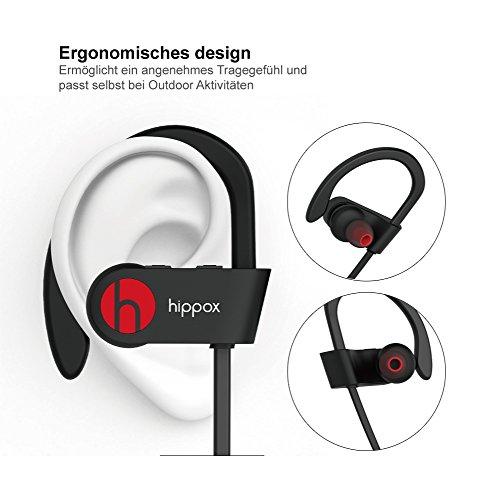 Bluetooth Kopfhörer mit IPX4 Schutzklasse
