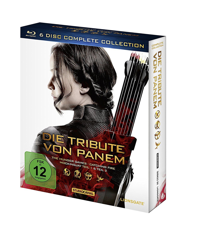 Die Tribute von Panem Komplettbox [Blu-ray] durch GS bei Hugendubel