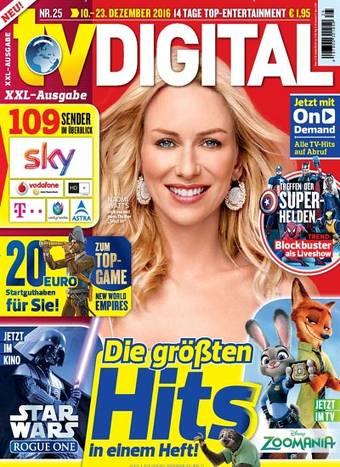 TV Digital XXL (Sky und andere Digitalsender) für 13 Monate für effektiv -0,50€ dank 45€ Amazon Gutschein, Bestchoice Gutschein oder 50€ Otto Gutschein bei 44,50€ Abokosten