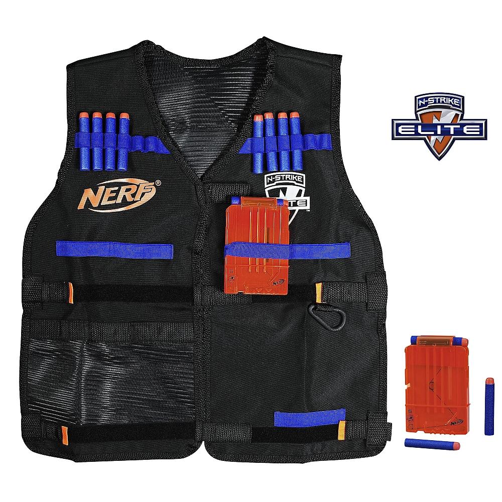"""[Toys """"R"""" Us] NERF - N-Strike Elite Tactical Weste gratis bei Kauf eines Nerf Blaster MBW 60 €"""