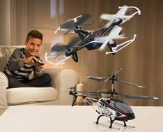 [Aldi Süd]Cartronic Drone Quadrocopter Q13 Storm & Helicopter C906 ab Samstag 17.12.2016
