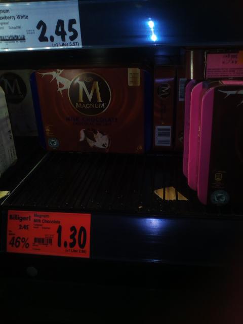 Kaufland Magdeburg Magnum Milk Choco