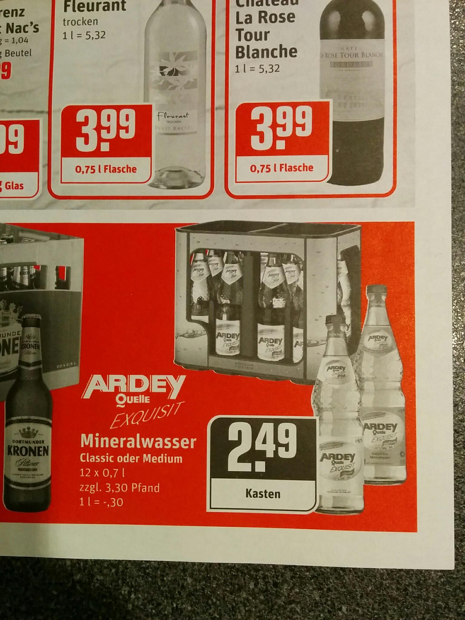 [LOKAL] ARDEY Quelle Mineralwasser bei REWE in Dortmund