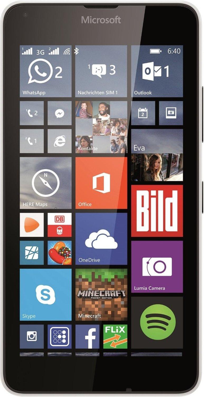 Lumia 640 Dual-SIM (5'' HD IPS, Snapdragon 400 Quadcore, 1GB RAM, 8GB eMMC, 8MP + 0,9MP Kamera, 2500mAh wechselbar, Win 10 Mobile) für 84,15€ [Microsoft Store ES]