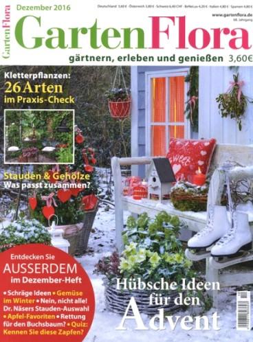 Gartenflora - Magazin im Jahresabo für eff. 8€ durch 15€ Rabatt und 35€ BestChoice-Gutschein