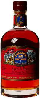 [Amazon Blitzangebot + Gutschein] Pusser's British Navy Nelson's Blood 15 Jahre Rum (1 x 0.7 l)