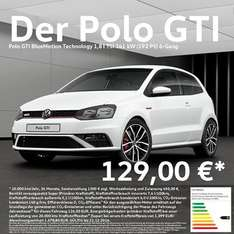 VW POLO GTI Privatleasing 129 EURO 24 Monate