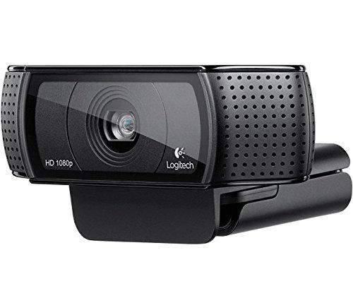 Logitech C920 HD Pro Webcam (mit USB und 1080p) schwarz für 54,90€