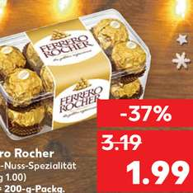 Ferrero Rocher 1,99€   [Kaufland]