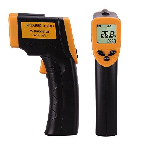 Infrarot-Thermometer / Pyrometer (-50? bis +380?) für 11,88€