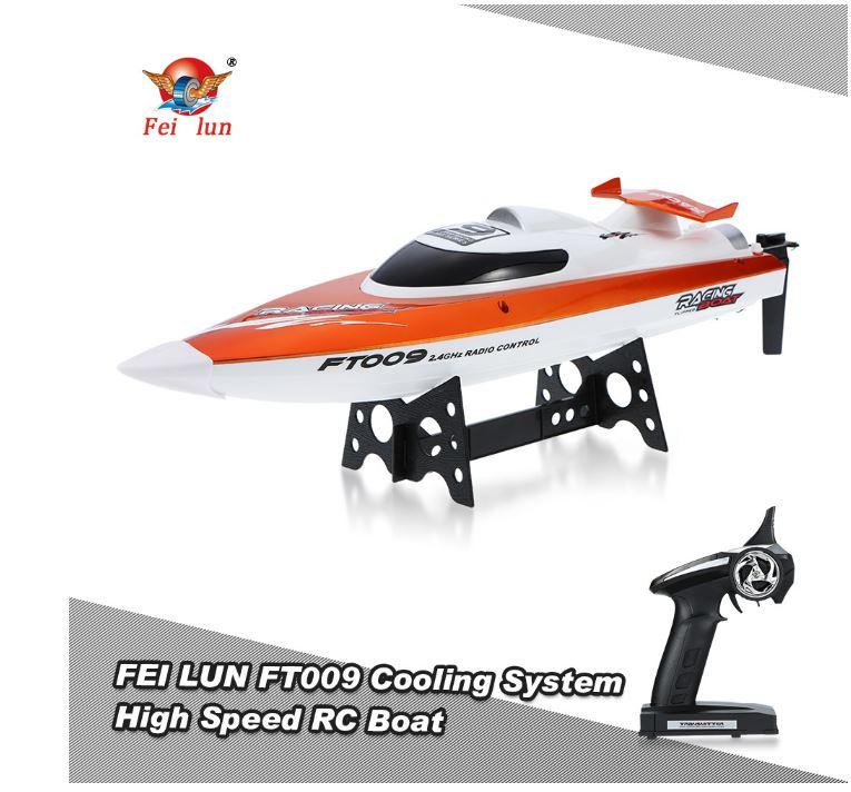 RC Boot (mit bis zu 30km/h und 150m Distanz)