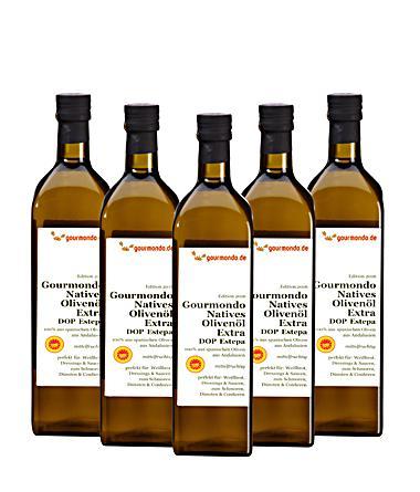 10l natives Olivenöl extra - in Flaschen [Gourmondo]
