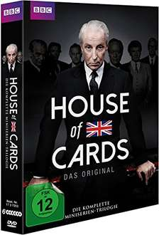 House of Cards (BBC-Original) Trilogie (6 DVDs) bei Amazon