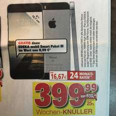 [Lokal Kassel] RATIO - iPhone SE / 64 GB / Spacegrau / 399,99€