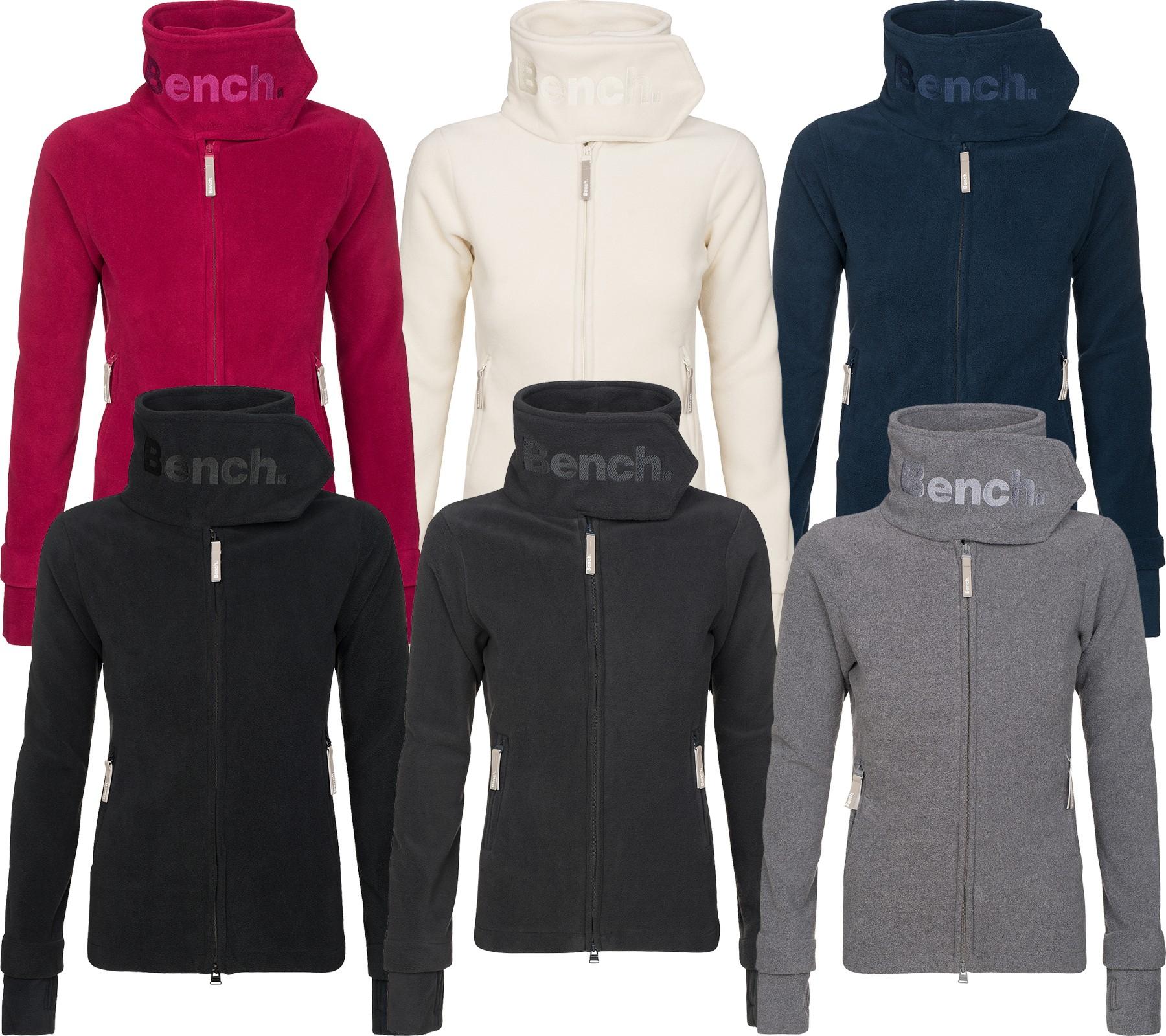 Schicke Fleece Damen Jacke von Bench für 19,99