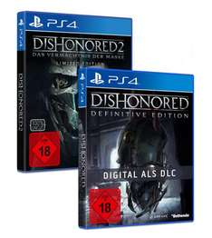 (Shopto) Dishonored 2 + Dishonored 1 (PS4/Xbox One) für 33,17€