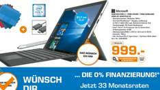 LOKAL Berlin Saturn Surface Pro 4 i5, 8 GB RAM, 256 GB SSD inklusive Typ Cover, 1 Jahr Office 365 und Wireless Display Adapter