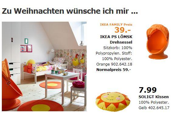 IKEA - PS LÖMSK Drehsessel