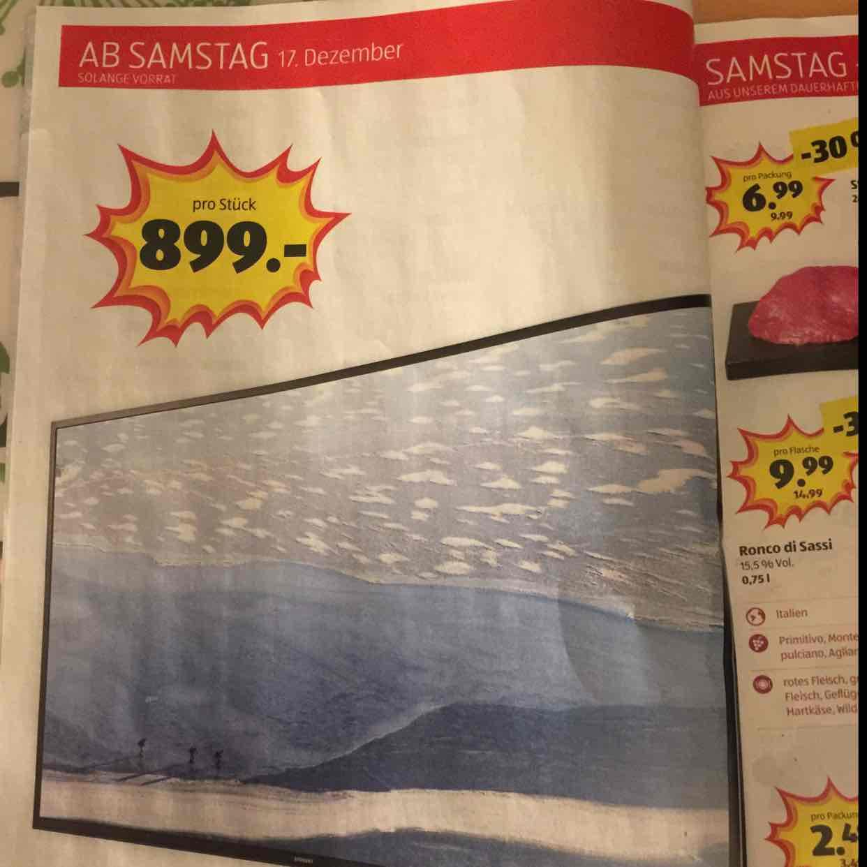 """[Aldi Suisse] Samsung 60"""" 4K  TV ~840€ UE60KU6070"""