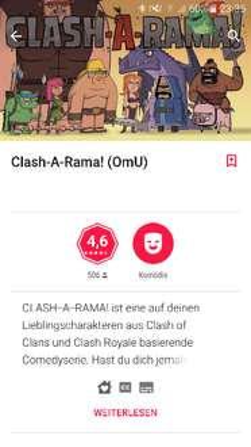 [GooglePlay] Clash a Rama (OmU) 3 Folgen gratis