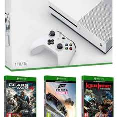 Amazon.it XBox One S 1 TB +Killer Instinct+ Forza Horizon+ Gears of War 4