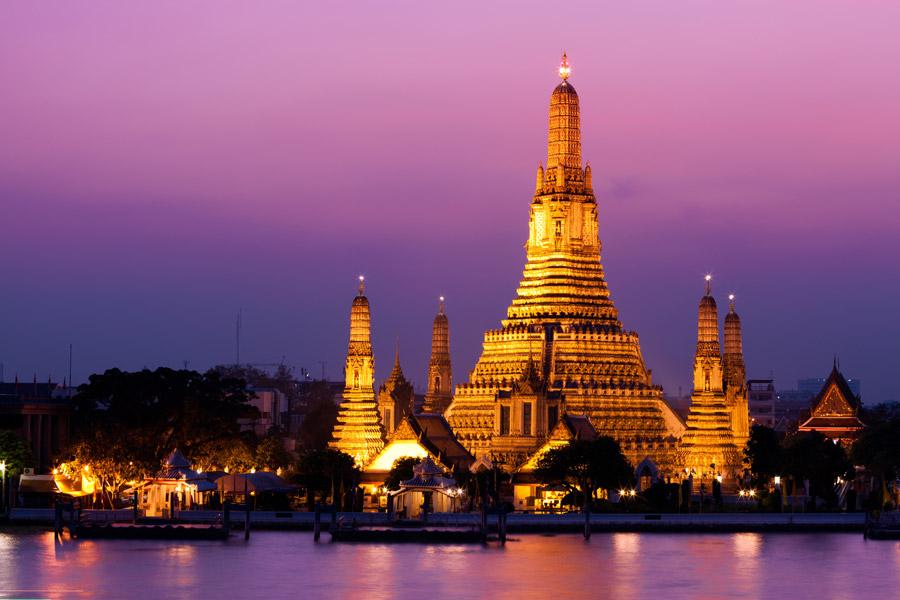 Mit Air India in ca 15 Stunden von Frankfurt nach Bangkok für ca 455€ hin- und rück. - Fast beliebig wählbare Termine Feb-März