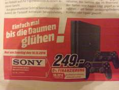[Lokal] Media Markt Bonn, PS4 Slim + 2. Controller 249€