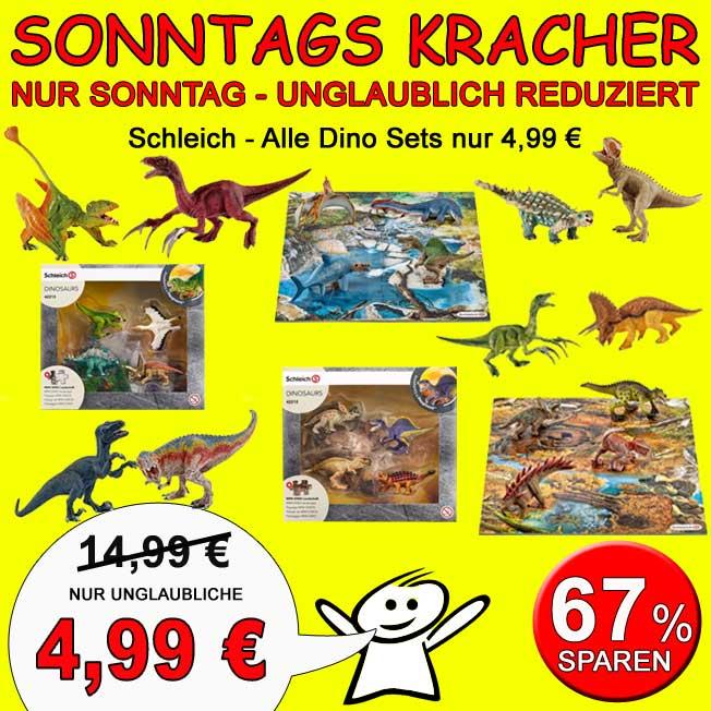 Spar-Toys.de ? schon ab heute ? Familienspiele ab 3€ ? Schleich Dinosaurier Sets 4,99€ statt ca. 14,99 ? Ayumi Plüschtier 20cm 6€