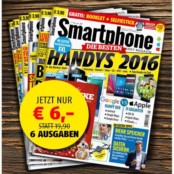 Smartphone Magazin Jahresabo für 4,20 €