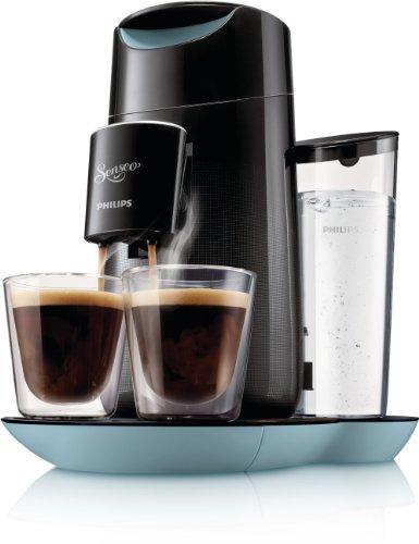 [Amazon] Senseo HD7870/60 Twist Kaffeepadmaschine (Touchpanel) in schwarz/blau für € 59,99 + 200 Senseo Kaffeepads gratis