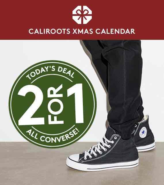 2 für 1 Converse bei Callirots