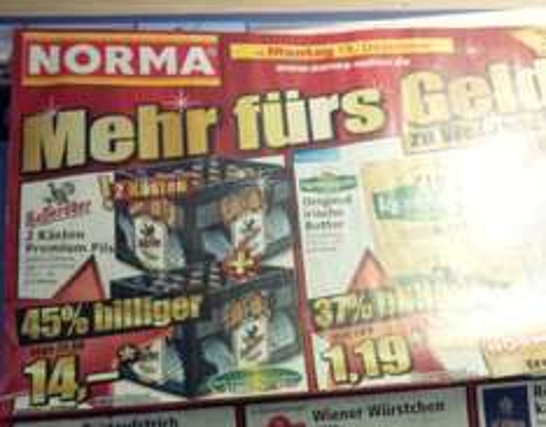 NORMA (offline) 2 Kästen Hasseröder für 14€, also je Kasten nur 7€ BESTPREIS