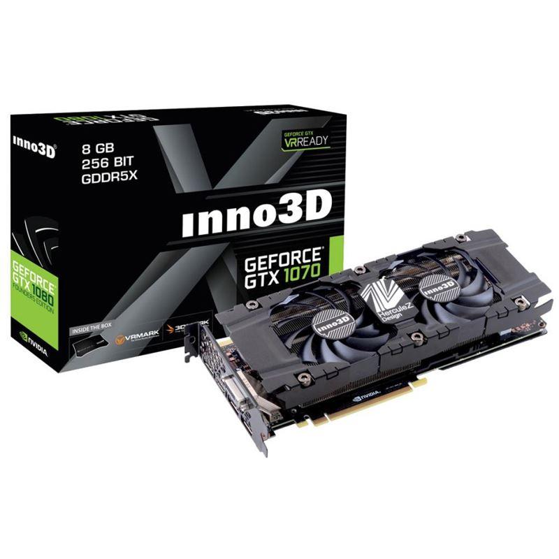 Inno3D GeForce GTX 1070 Twin X2! 383,50€! [Mindfactory @ Mindstar]