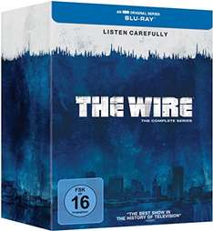 [Amazon Blitzdeal] The Wire - Die komplette Serie (Staffel 1-5)[Blu-ray] [Limited Edition] für 44,97€ inkl. Versand