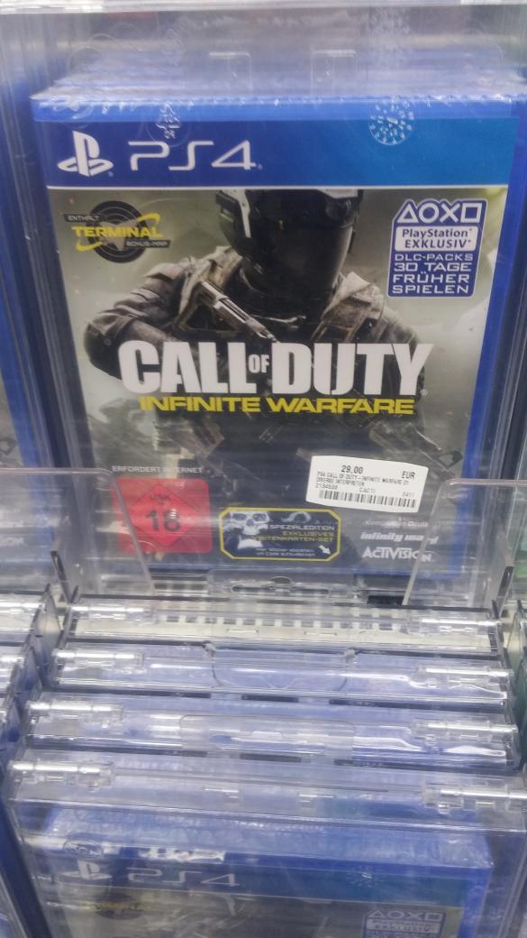Lokal Leipzig Media Markt - Call of Duty Infinite Warfare (PS4) für 29 Euro