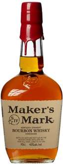 Makers Mark Kentucky Straight Bourbon 0,7l bei Amazon