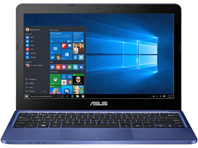 "Asus E200HA 11.6"" Netbook 32GB eMMC 2GB RAM"