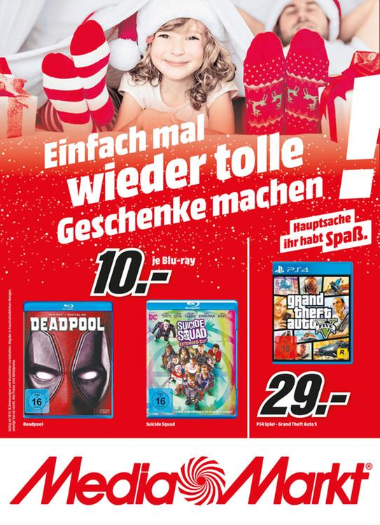Lokal Media Märkte Hamburg und Umgebung GTA V PS4 für nur 29€