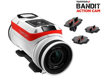 [ibood] TomTom  Bandit 4K-Action-Cam-Starterset - 18% unter PVG