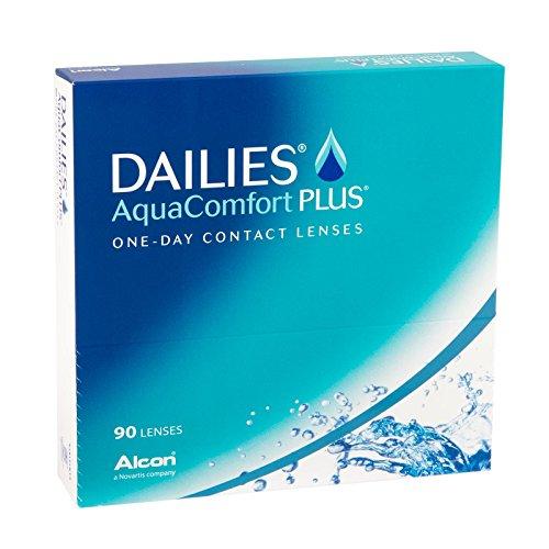 [Amazon] Dailies AquaComfort Plus Tageslinsen 90 Stück (BC 8.7 Dia 14.0), diverse Stärken, Spar-Abo-Rabatt mögl.