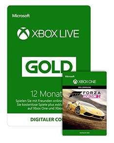 Xbox Live Gold 12 Monate + Forza Horizon 2 für 54,99€ [Amazon]