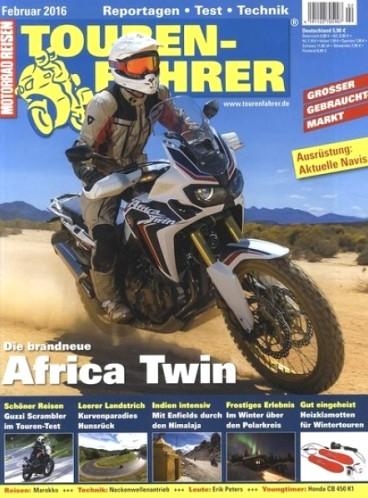 Tourenfahrer - Magazin für Motorradtouren für eff. 10,80€ im Jahr durch 15€ Rabatt und 30€ Amazon- oder BestChoice-Gutschein