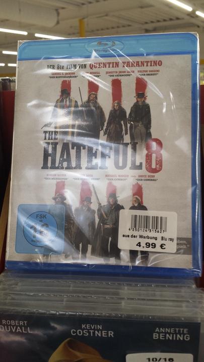 [Lokal NDS/HB] Zimmermann: Hateful 8 und weitere Blu-ray- und DVD-Filme