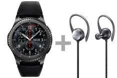 Samsung Gear S3 Frontier + Level Active für 364,21€ / Gear S3 Classic + Level U Pro für 371,79€
